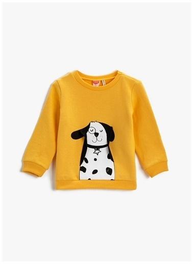 Koton Sweatshirt Sarı